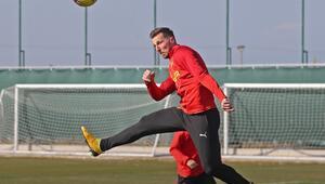 Göztepede yeni transfer Kamil Wilczek, ilk antrenmanına çıktı