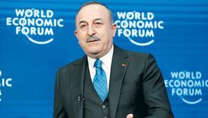 Çavuşoğlu Davos'ta: S-400'ler  NATO'ya tehdit  oluşturmayacak