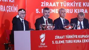 Son Dakika | Türkiye Kupasında çeyrek final ve yarı final eşleşmeleri belli oldu Fenerbahçe, Galatasaray ve Trabzonsporun rakipleri...