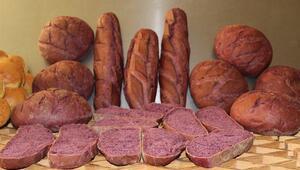 Japonyada tüketimi zorunlu Şifa deposu mor ekmeğin üretimi Ankarada başladı