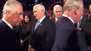 Prens Charles, Mike Pencein elini sıkmadı