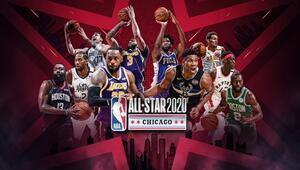 NBA All-Starda ilk 5ler açıklandı Kaptanlar LeBron ve Giannis oldu...