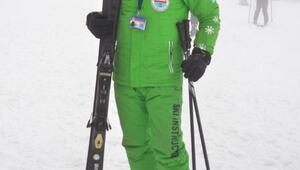 Erciyeste kayak ve snowboard eğitimi