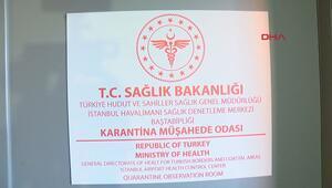İstanbul Havalimanındaki karantina odası Koronavirüs için hazır