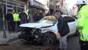 Kırıkkalede 6 aracın karıştığı trafik kazası: 3 yaralı