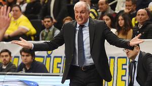 Fenerbahçenin başantrenörü Zeljko Obradovic: Savunma seviyemiz çok yüksekti