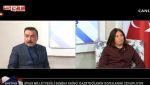 AK Partili Ekinci depreme canlı yayında yakalandı