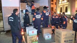 İBB Arama kurtarma ekipleri Elazığa gitti