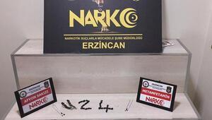 Erzincan'da uyuşturucu operasyonunda 1 kişi tutuklandı