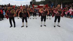 Kar festivali 10 binleri  ağırladı