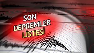 Deprem yaşanan bölgelerde son durum ne Deprem mi oldu