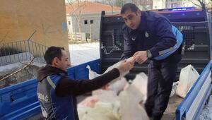Altındağda 200 kilo kaçak ete el konuldu