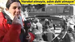 CNN Türk Muhabiri Fulya Öztürk gözyaşlarını tutamadı