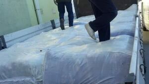Nazilliden depremzedelere battaniye yardımı