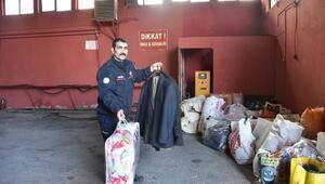 Sivasta, depremzedeler için yardım kampanyası