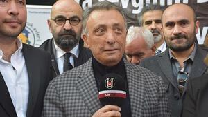 Beşiktaş Başkanı Ahmet Nur Çebiye Sergen Yalçın çağrısı