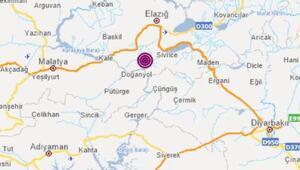 Elazığda 5.1 büyüklüğünde deprem