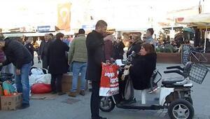 Foçadan Elazığa yardım kampanyası