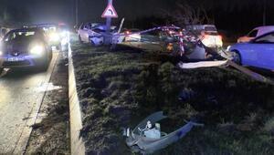 Sultangazide art arda iki kaza: 7 yaralı