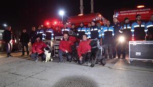 Ankara'dan  Elazığ'a yardım eli