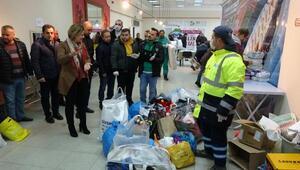 İzmitte, Elazığ depremzedeleri içinyardım kampanyası