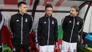 Göztepe - Beşiktaş maçında Caner Erkinden şaşırtan görüntü