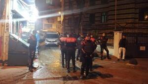 Beyoğlunda 1 kişi silahlı saldırıda yaralandı