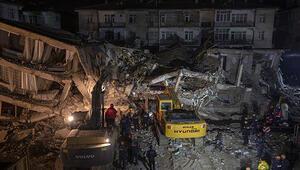 Deprem bölgesinde son durum... Çalışmalar sürüyor