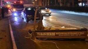 İzmirde zincirleme kaza: 3 yaralı