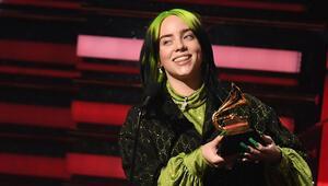 Grammy 2020 kazananları belli oldu...  Billie Eilish damgası: Beş ödülü evine götürdü