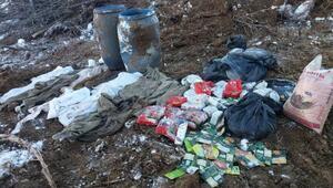 Bitlis'te, PKK'lıların kullandığı 5 sığınak bulundu