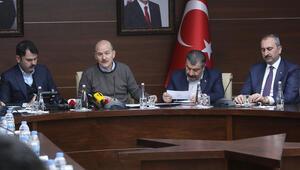 Son dakika haberler: 4 Bakandan Elazığ'daki son durumla ilgili yeni açıklama