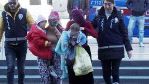 Hırsızlıktan tutuklanan 2 kadın, cezaevine çocuklarıyla gitti