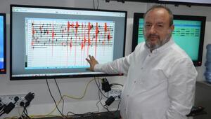 Marmarada depremlerle ilgili yapay zeka çalışması
