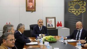 Vali Günaydın başkanlığında toplantı yapıldı