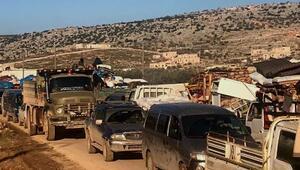 İdlibden Türkiye sınırına gelenlerin sayısı 480 bini geçti