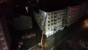 Son dakika... Elazığda boşaltılan binanın kontrollü yıkımı başladı