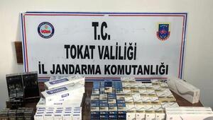Tokatta 380 paket kaçak sigara ele geçirildi