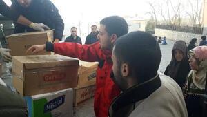 İmranlı Ülkü Ocaklarından depremzedelere yardım