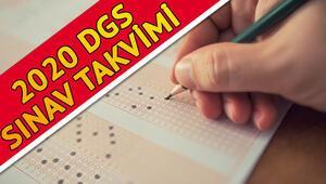 DGS başvuruları ne zaman 2020 DGS sınav ve başvuru takvimi
