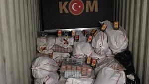 Vanda kilo almak için kullanılan 65 bin 200 tablet kaçak ilaç ele geçirildi