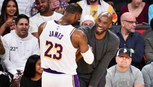 LeBron Jamesten Kobe Bryanta duygusal veda Kalbim kırık, yıkıldım...