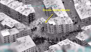 İHAlar Elazığ deprem bölgesini havadan böyle görüntülendi