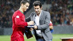 Luis Figo, Cristiano Ronaldonun Kobe Bryant tweetini kopyaladı