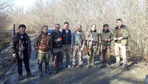 Kırklarelide 12 avcıya para cezası uygulandı