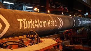 TürkAkım ile 1 milyar metreküp doğal gaz aktarıldı