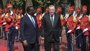 Son dakika haber: Cumhurbaşkanı Erdoğan Senagalde