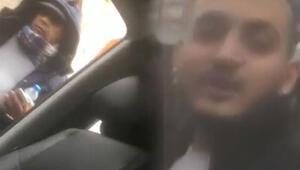 Yol kesip evrak kontrolü yapan taksici, gözaltına alındı