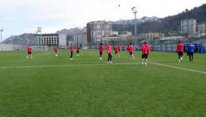 Çaykur Rizesporda Beşiktaş maçı hazırlığı