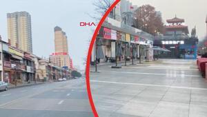 Hayalet şehir Sokaklar boş, marketler kapalı...